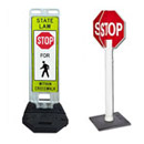 Traffic Signs for Parking Lot