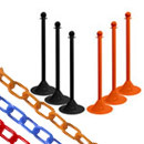 Stanchions and Plastic Chains