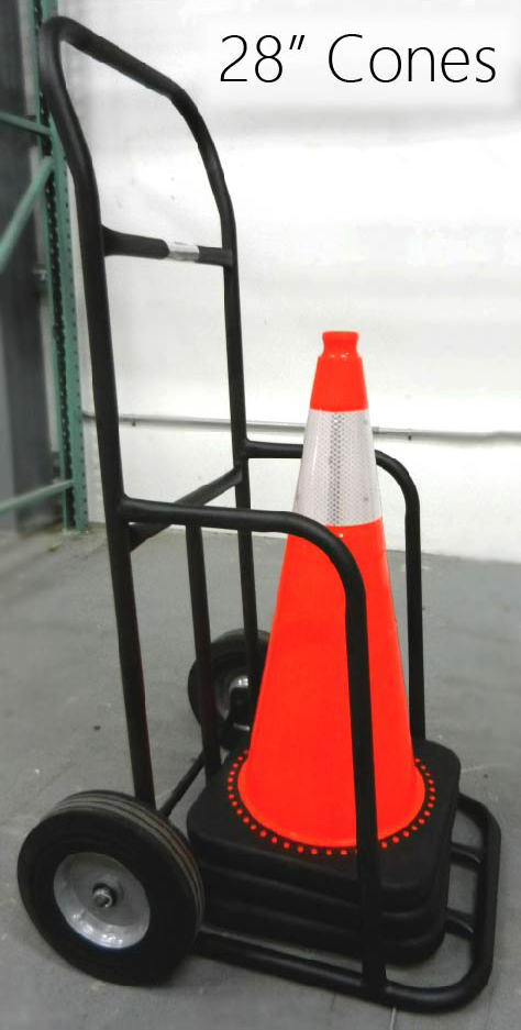 Stanchions For Sale >> Cone Cart