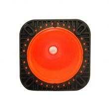 Traffic Cone w/Black Base - 4