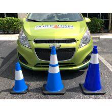Traffic Cone w/Black Base - 1