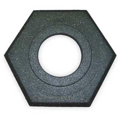 Cortina Recycled Hexagon 16 lbs Black Rubber Base