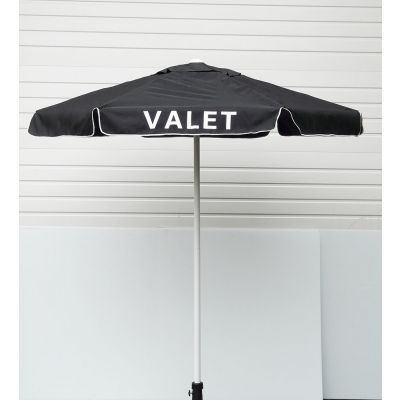 Buy Valet Black Podium Aluminum Frame Umbrella on sale online