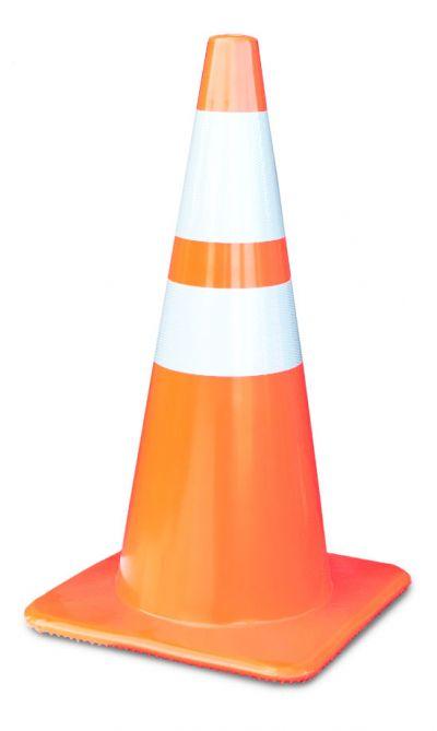 "Buy Lakeside 28"" Orange Traffic Cone w/6"" & 4"" Reflective Collar on Sale on sale online"