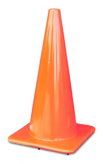 "Buy Lakeside 28"" 7 lbs Orange Traffic Cone on sale online"