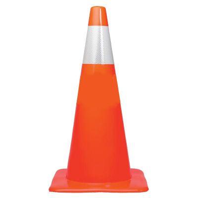 "Buy 28"" Orange Based Traffic Cone w/ 6"" Reflective Collar on sale online"