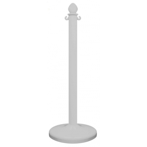 White Plastic Posts (Pack of 2)