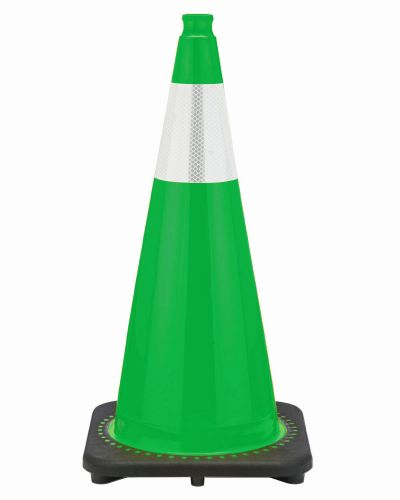 "Buy 28"" Kelly Green Cone Black Base, 7 lbs w/6"" Reflective Collar on sale online"