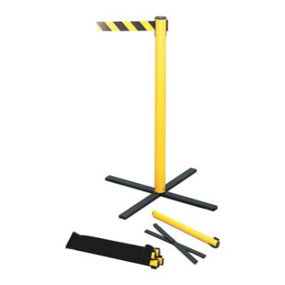Tensabarrier Stowaway Retractable Belt Barrier Post (Pack of 4)