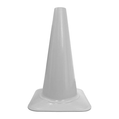 """Buy Cortina 18"""" White Sport Cone on sale online"""