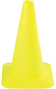 """18"""" Fluorescent Lime Sport Cone"""
