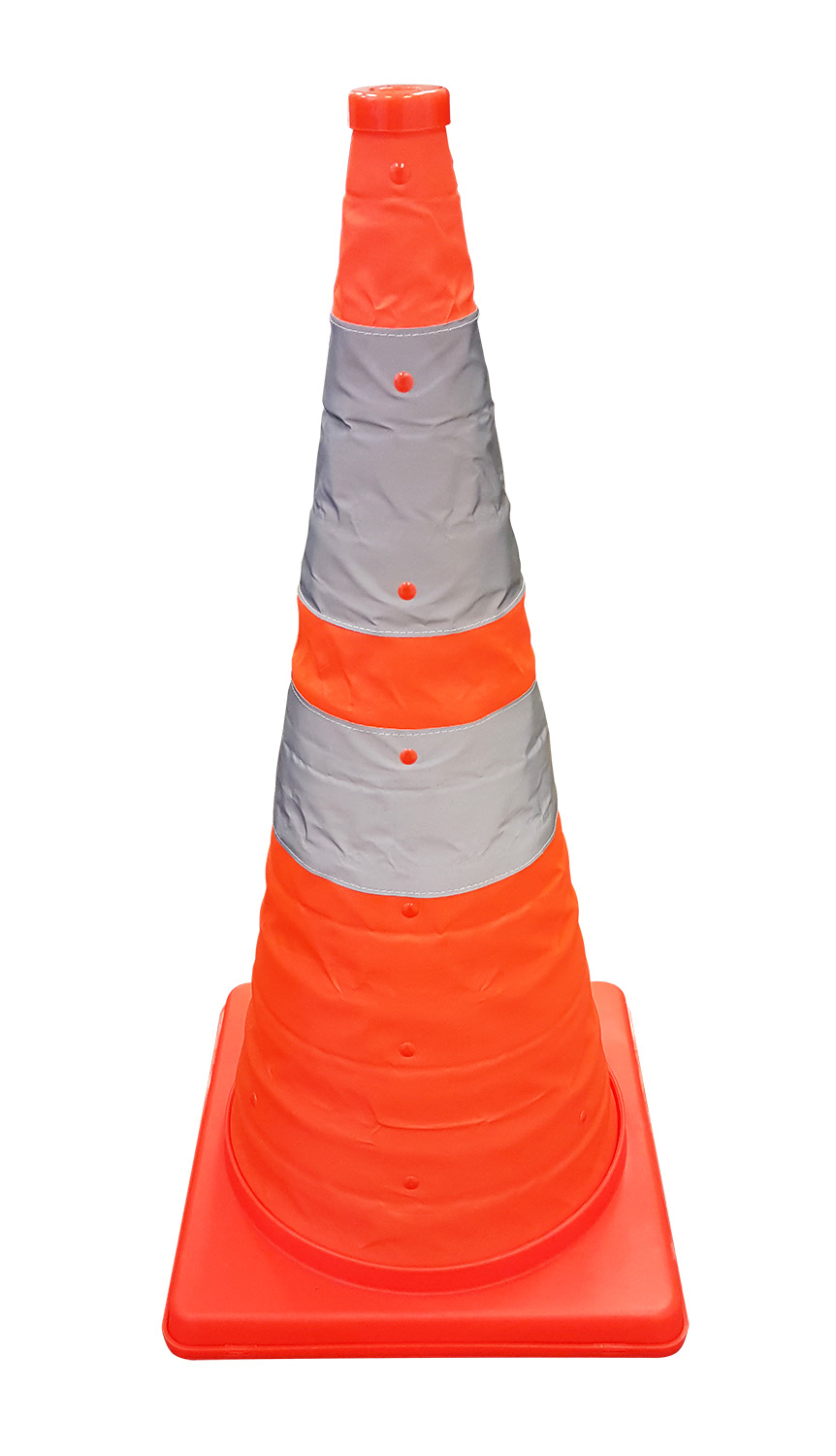 Traffic Light For Sale >> 28 inch Reflective, Collapsible Cone without Light - 5 pk. - Traffic Cones For Less