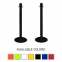 "Traffic Control Medium Duty 40"" Plastic Stanchion Post (Pack of 2)"