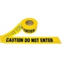 Barricade Yellow Caution Do Not Enter Tape 1.5 Mil, 1000 feet