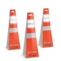 Disposable 18 Inch Traffic Cones (Pack of 6 )