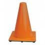 "12"" Orange 1.8 lbs Traffic Cone USA Made"