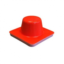 "Motorcycle  Training Cone 4"" x 4"" x 2"""