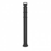 "EZ Grab Premium Black 45"" Delineator Post"