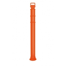 "EZ Grab Premium Orange 45"" Delineator Post"