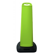 45 Inch Lime Vertical  Panel Blank w/Rubber Base