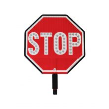 "Buy Cortina LED 12"" Stop Sign HIP Paddle w/Padded Handle on sale online"