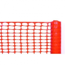 Cortina 4' x 100' Orange Lightweight Barrier Fence