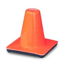 "Buy  6"" Orange Wide Body Mini Traffic Cone on sale online"