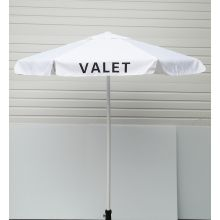 Buy Valet White Podium Aluminum Frame Umbrella on sale online
