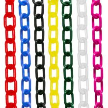 "1"" Traffic Control Plastic Chain"