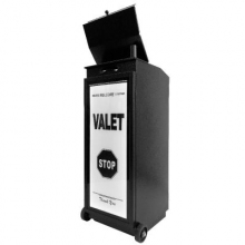 Smart Valet Podium w/ RGB LED Light & Power Station