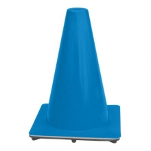 "12"" Blue 1.5 lbs Traffic Cone USA Made"