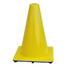 "Lakeside 12"" Yellow Traffic Cone, 1.5 lbs"