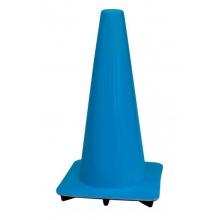 "Lakeside 18"" Blue Traffic Cones, Made in USA"