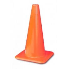 "Lakeside 18"" Orange Traffic Cones Made in USA"