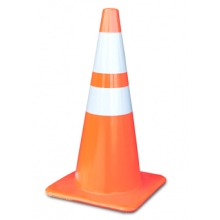 "Buy 36"" Reflective All Orange 10 LB Cones with 4"" and 6"" Collars Made in USA on sale online"