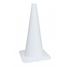 "Lakeside 28"" 7 lbs White Traffic Cone"