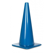 "Lakeside 28"" 7 lbs Blue Traffic Cone"