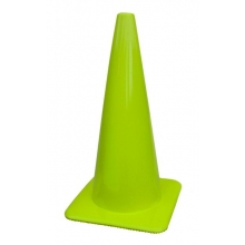 "Lakeside 28"" 7 lbs Lime-Green Traffic Cone"
