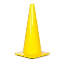 "Lakeside 28"" 7 lbs Yellow Traffic Cone"