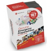 Buy 2 Kit Pack Emergency Preparedness First Aid Kit - 167 pieces Each on sale online