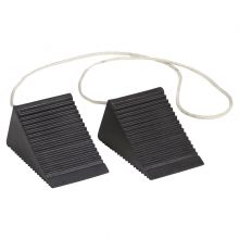 Buy Compact Aviation Wheel Chocks w/ 4 Feet Nylon Rope on sale online