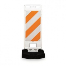 "Vertical Panel Crosswalk Road Traffic Barricade 12"" Wide"
