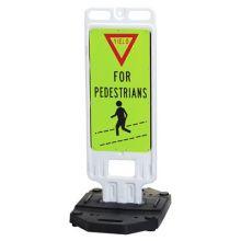 Buy Step-N-Lock Vertical Panel - Yield For Pedestrians on sale online