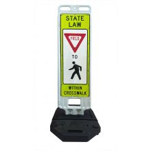 Buy Step-N-Lock Vertical Panel - Yield To Pedestrians on sale online