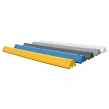 Standard 6 ft. Plastic Parking Block w/Channels