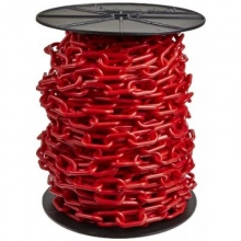 "Reel Plastic Chain, 2"" x 125 ft"
