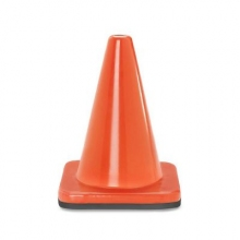"5"" Orange Wide Body Mini Traffic Cone"