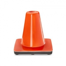 "6"" Orange Wide Body Mini Traffic Cone"