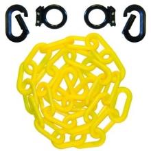 "Magnet Ring Carabiner Kit w/10 feet 2"" HD Plastic Chain"