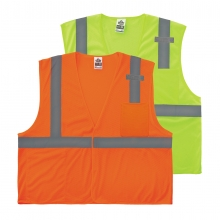 GloWear Mesh Hi-Vis Safety Vest - Type R, Class 2, Economy